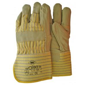 Meubellederen handschoen met palmversterking maat 11