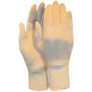 Interlock handschoen van 100% katoen damesmaat (180 grams) maat 7