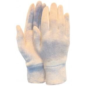 Interlock handschoen van 100% katoen herenmaat met manchet (280 grams) maat 10