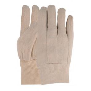 Keperdoek handschoen van 100% katoen maat 10