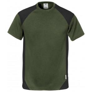 Fristads T-shirt 7046 THV Legergroen/zwart