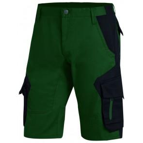 FHB Wulf Bermuda Groen-Zwart