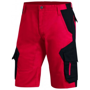 FHB Wulf Bermuda Rood-Zwart