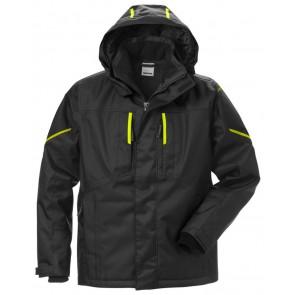 Fristads Airtech® winterjack 4058 GTC Zwart/hi-vis geel
