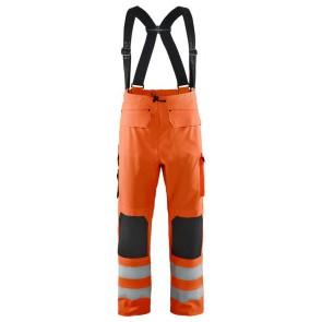 Blåkläder 1302 Regenbroek zware kwaliteit Oranje
