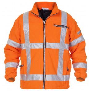 Hydrowear Turijn Fleecejack Oranje