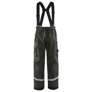Blåkläder 1305-2003 Regenbroek Army Groen