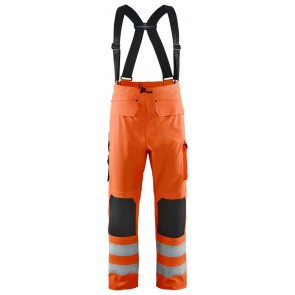 Blåkläder 1306-2005 Regenbroek High Vis Level 3 Oranje