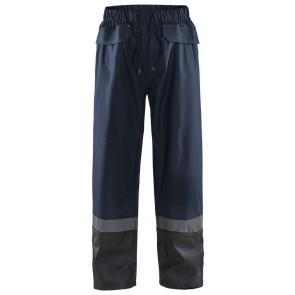 Blåkläder 1322-2003 Regenbroek Level 2 Donker marineblauw/Zwart