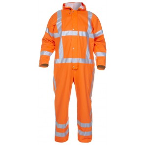 Hydrowear Overton Overall Fluor Oranje