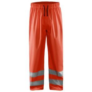 Blåkläder 1384-2000 Regenbroek High Vis Fluor Rood