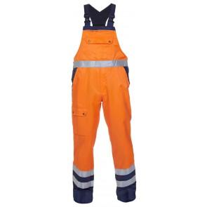 Hydrowear Hanoi Amerikaanse overall Oranje/Marineblauw