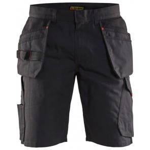 Blåkläder 1494-1330 Service Short Zwart/Rood