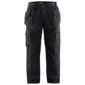 Blåkläder 1500-1140 Werkbroek Marineblauw/Zwart
