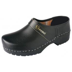 Gevavi 1550/00 gesloten schoenklomp PU zwart