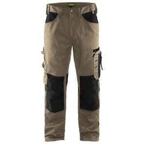Blåkläder 1556-1860 Werkbroek zonder spijkerzakken Stone/Zwart