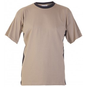 Hydrowear Tricht T-shirt Khaki/Zwart
