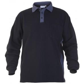 Hydrowear Tegelen Sweater Zwart/Grijs