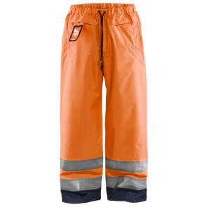 Blåkläder 1869-1513 Multinorm winterwerkbroek Marineblauw/Oranje