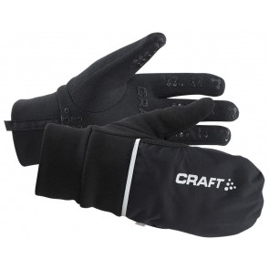 Craft Hybrid Weather Glove Zwart
