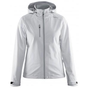 Craft Light Softshell Jacket Dames Wit