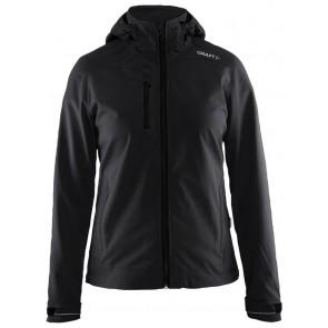Craft Light Softshell Jacket Dames Zwart