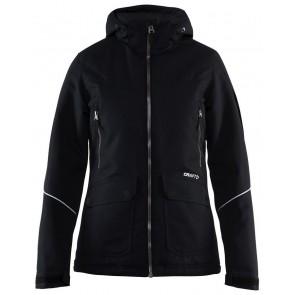 Craft Utility Jacket Dames Zwart/Wit