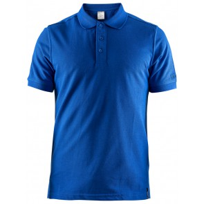 Craft Casual Polo Pique Heren Blauw