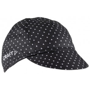 Craft Race Bike Cap Zwart/Wit