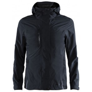 Craft Urban Rain Jacket Heren Black