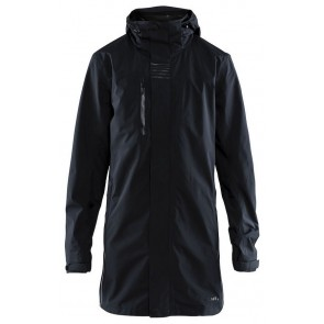 Craft Urban Rain Coat Heren Black