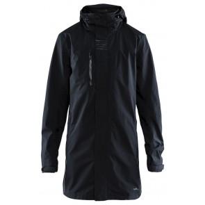 Craft Urban Rain Coat Heren Black