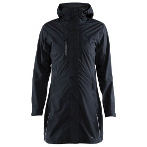 Craft Urban Rain Coat Dames Black