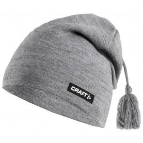Craft Knitted Hat Promo Grijs