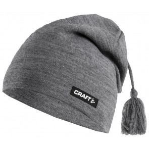 Craft Knitted Hat Promo Donkergrijs