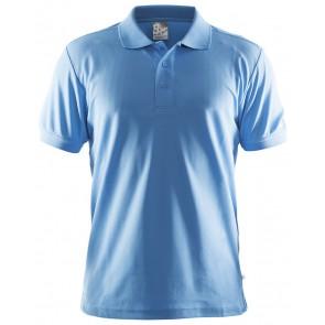 Craft Polo Shirt Pique Classic Men Aqua