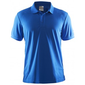 Craft Polo Shirt Pique Classic Heren Blauw