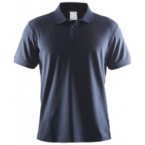 Craft Polo Shirt Pique Classic Men Marineblauw