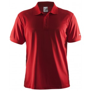 Craft Polo Shirt Pique Classic Men Rood