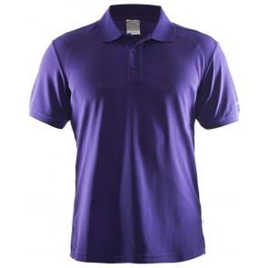 Craft Polo Shirt Pique Classic Heren Paars