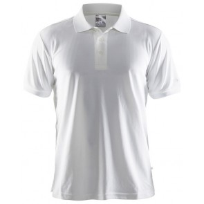 Craft Polo Shirt Pique Classic Men Wit