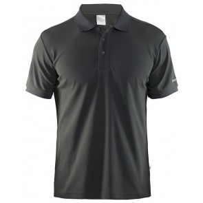 Craft Polo Shirt Pique Classic Men Grijs