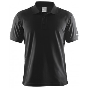 Craft Polo Shirt Pique Classic Men Zwart