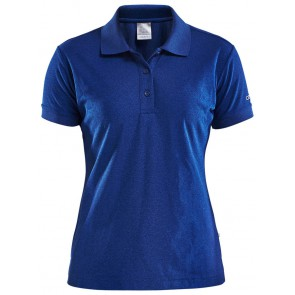 Craft Polo Shirt Pique Classic Dames Donkerblauw
