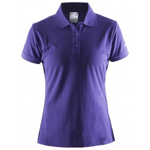 Craft Polo Shirt Pique Classic Dames Paars