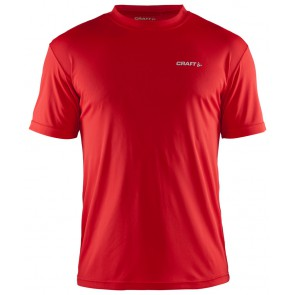 Craft Prime Tee Heren Rood