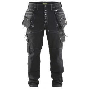 Blåkläder 1999-1141 Werkbroek Stretch Zwart