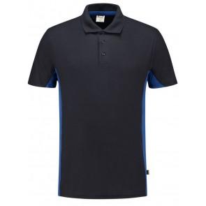Tricorp 202004 Poloshirt Bicolor Marineblauw/Korenblauw
