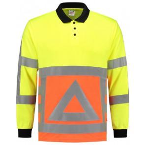 Tricorp 203002 Poloshirt Verkeersregelaar Fluor Oranje/Geel