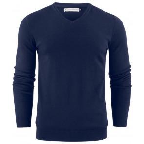 Harvest Ashland V-Neck Sweater Heren Marineblauw